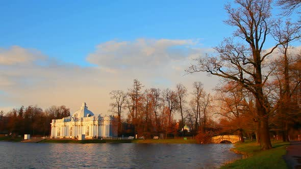 Thumbnail for Pond In Pushkin Park, Tsarskoye Selo, St. Petersburg 1