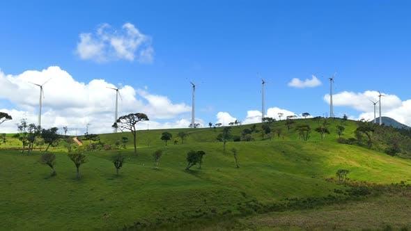 Thumbnail for Wind Turbines On Green Hills - Wind Farm In Sri Lanka 1