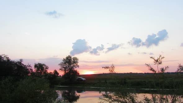 Thumbnail for Landscape  Sunrise Over Lake 1
