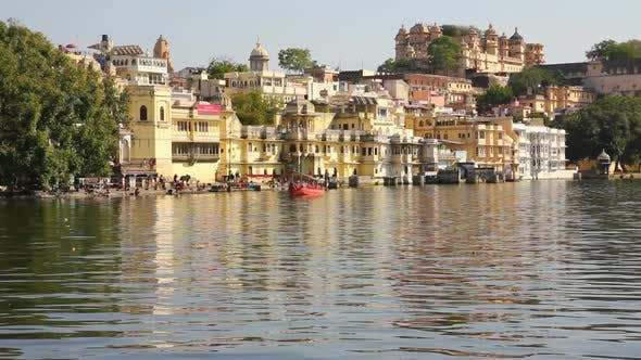 Thumbnail for Pichola Lake In Udaipur India 7