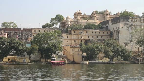 Thumbnail for Pichola Lake And Palaces In Udaipur India 1