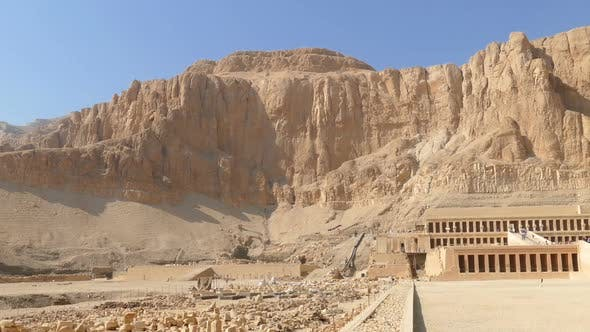 Thumbnail for Famous Ancient Temple Of Hatshepsut In Luxor Egypt
