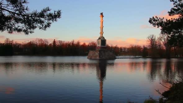 Thumbnail for Pond In Pushkin Park, Tsarskoye Selo, St. Petersburg 2