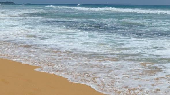 Thumbnail for Ocean Waves On The Beach 2