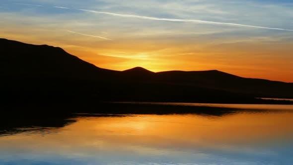 Thumbnail for Sunrise On Morning Lake  Mountain 2