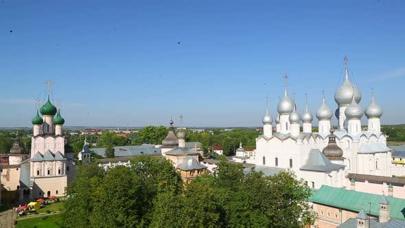 Thumbnail for Kremlin In Ancient Town Rostov The Great, Russia. Included In World Heritage List Of Unesco