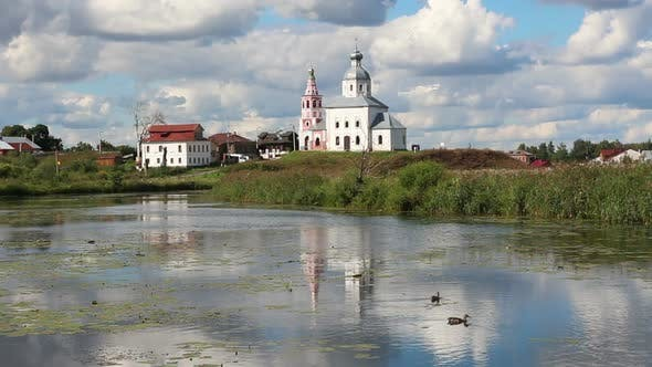Thumbnail for View On Churches In Suzdal Russia 1