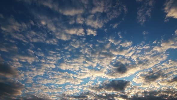 Thumbnail for Beautiful Evening Clouds Background - 1