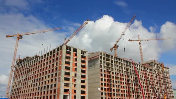 Thumbnail for Working Construction Cranes 3