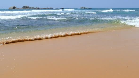 Thumbnail for Ocean Waves On The Beach 1