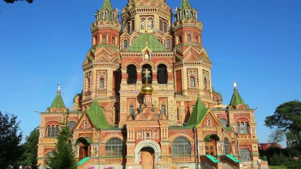 Thumbnail for Church Of Holy Apostles Peter And Paul In Peterhof Saint-Petersburg Russia