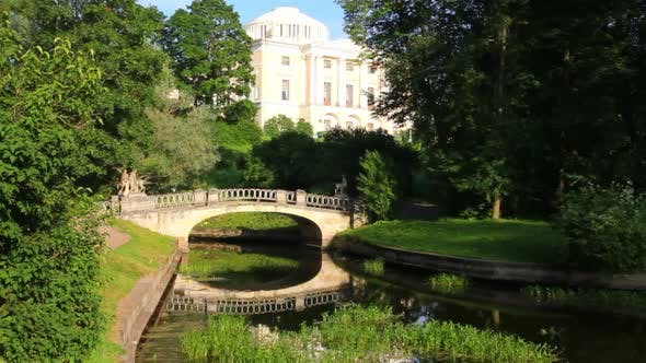 Thumbnail for Centaurs Bridge In Pavlovsk Park Saint-Petersburg Russia 1