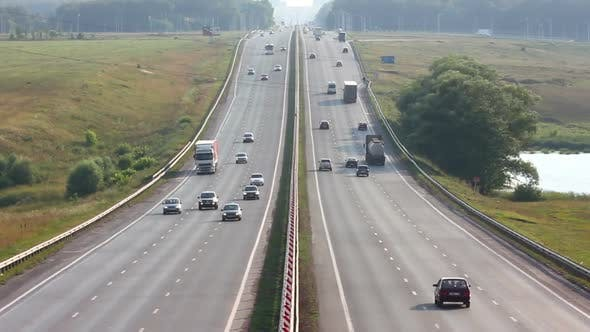 Thumbnail for Cars traveling on The Highway