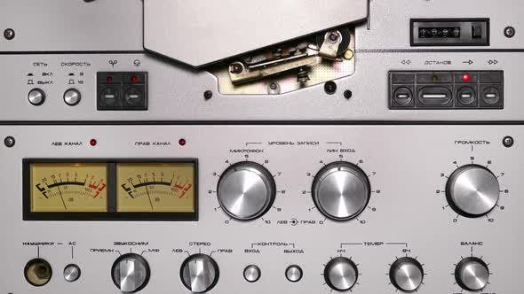 Thumbnail for Control Panel Of Old Reel Tape Recorder 2