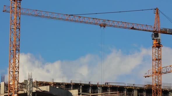 Thumbnail for Working Construction Cranes - 5