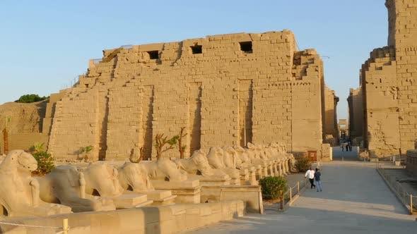 Thumbnail for Ancient Karnak Temple In Luxor, Egypt 2