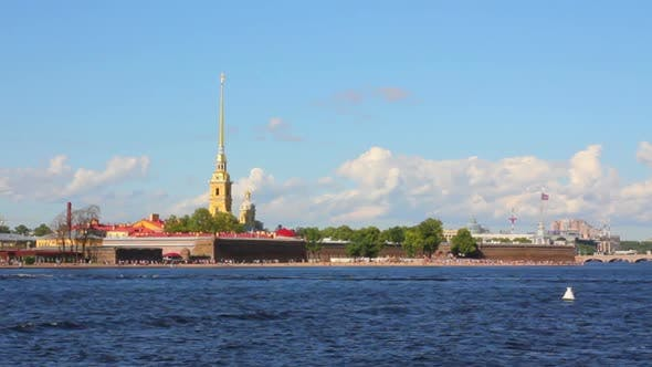 Thumbnail for Neva River In The Historical Center Of Saint-Petersburg, Russia - 2