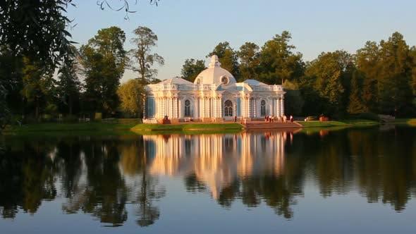 Thumbnail for Pavilion On Lake In Pushkin Park St. Petersburg Russia