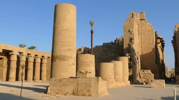 Cover Image for Ancient Karnak Temple In Luxor, Egypt 1