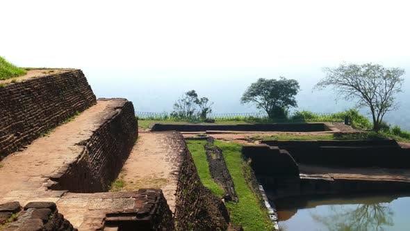 Thumbnail for Ruins Of Fortress On Top Of Sigiriya Lion Rock, Sri Lanka