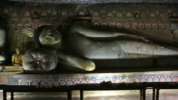 Thumbnail for Buddha Statues In Dambulla Cave Temple, Sril Lanka 1