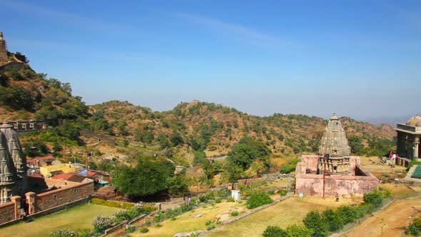 Thumbnail for Kumbhalgarh Fort In Rajasthan India