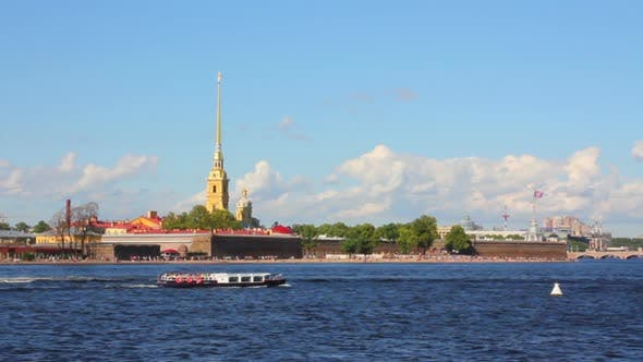 Thumbnail for Neva River In The Historical Center Of Saint-Petersburg, Russia 3
