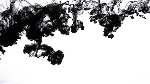 Black Ink in Water