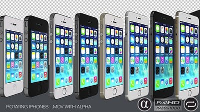 Pre-Rendered iPhones are Rotating 1