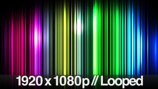 Thumbnail for Thin Lines Background Loop - Multi-Colored