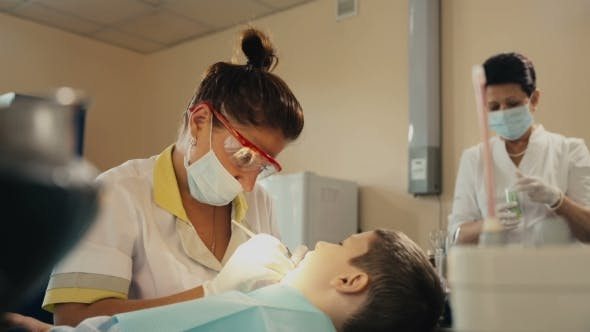 Thumbnail for Small Child's Visit To The Dentist