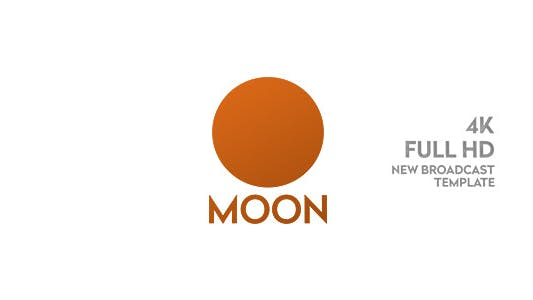Moon TV Pack/ Broadcast Ident/ TV Graphics/ 3D Intro/ Transitions/ Lower Third/ Fashion and Food Id