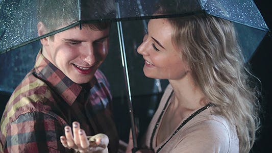 Cover Image for Romantic Date in Rain