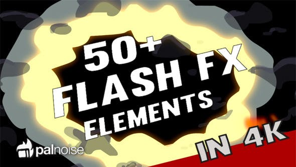 Thumbnail for Flash FX Elements 4K (54-Pack)