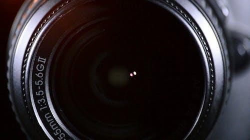 Spiegelreflexkamera-Fokussierung und -aufnahme
