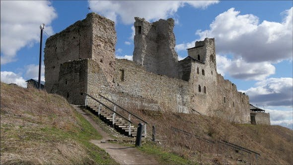 Thumbnail for Old Ruins of the Big Castle on a Hill