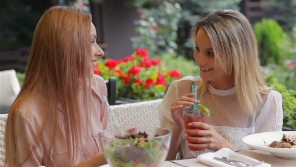 Thumbnail for Girlfriend Drink Cocktails And Gossiping