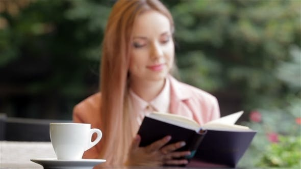 Thumbnail for Reading And Coffee Concept