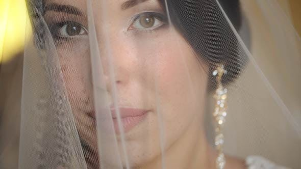 Thumbnail for Bride Covered With Veil