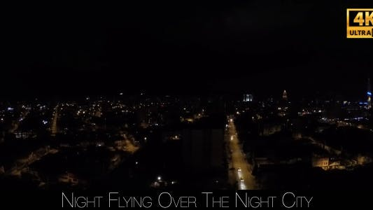 Cover Image for Night Flying Over The Night City 4
