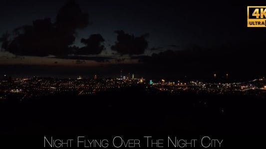 Thumbnail for Night Flying Over The Night City 8