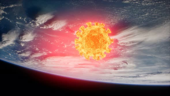 Thumbnail for Coronavirus COVID-19 on the Earth Orbit