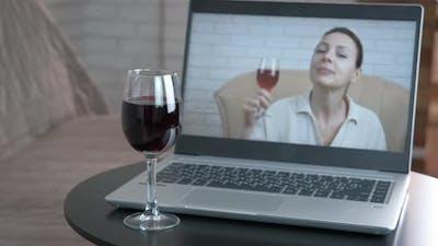Drink Wine By Screen