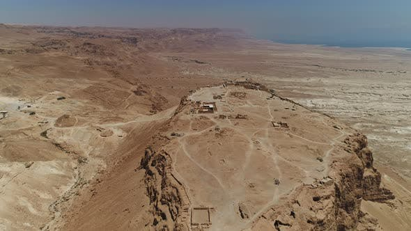 Thumbnail for Aerial view of Masada