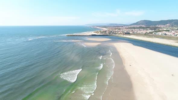 Thumbnail for Exotic Sandbank Beach with Blue Clean Sea. Aerial view