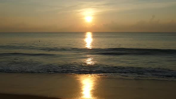 Thumbnail for Sunrise at the beach from Arugam Bay