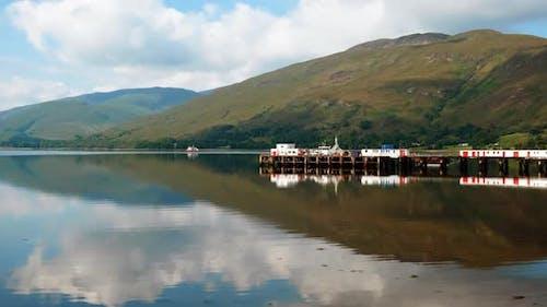 Loch Linnhe and Fort William, Scottish Highlands, UK