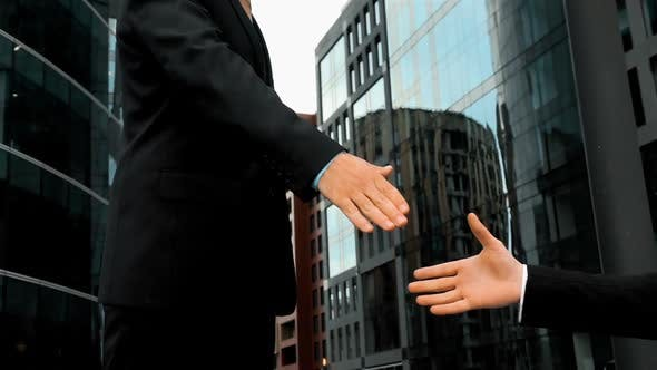 Businessman Shake Hands