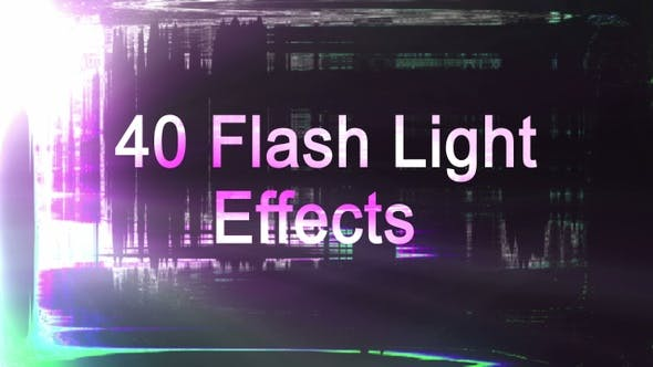 Thumbnail for Light Flash Transitions Overlay Package