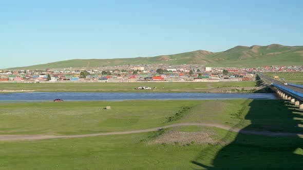 Kharkhorin Ovorkhangai Province in Mongolia